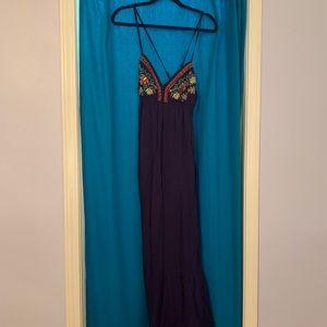 Beautiful Navy Maxi Dress